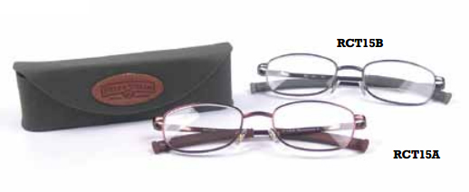 Field & Stream  Moosehead Cork Tip Reader with Case Eyeglasses