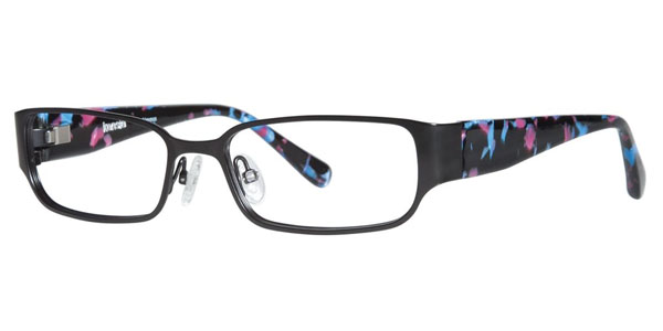 kensie eyeglasses blushing black bgicvy