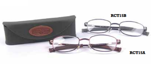 Field & Stream  Lookout Cork Tip Reader with Case Eyeglasses